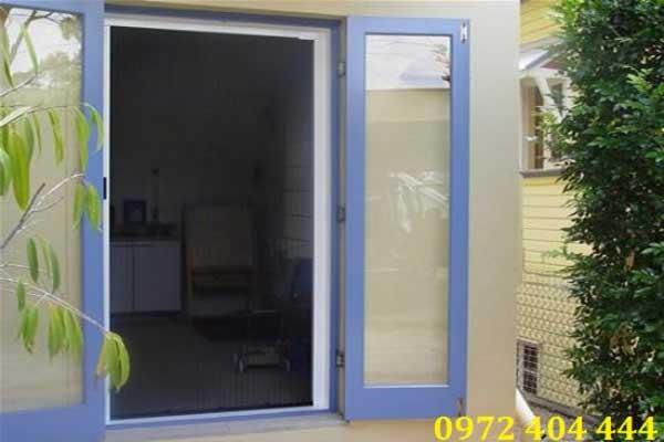 Cửa lưới chống muỗi dành cho nhà xưởng