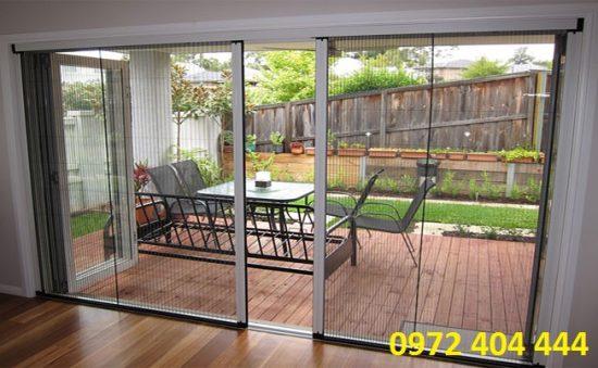 Cửa lưới chống muỗi hoàn thiện ngôi nhà bạn