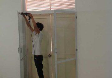 hệ thống cửa lưới chống muỗi cố định
