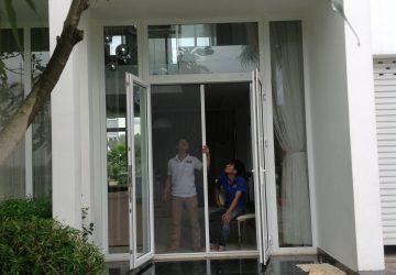 Địa chỉ thi công cửa lưới cho chung cư cao cấp tại TP.HCM